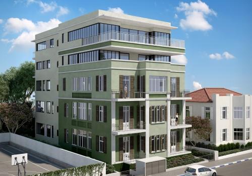 בקרבת הים בפרוייקט אקלקטי לשימור! דירה ענקית עם מרפסות מעלית וחניה בטאבו!
