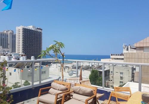 דירת גג מדהימה במיקום מבוקש עם מעלית חניה בטאבו ונוף לים!