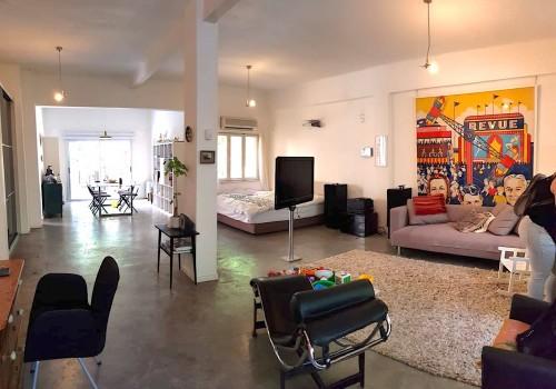 ברחוב נחמני! דירת 90 מ״ר לופטית מיוחדת ומשופצת אדריכלית!