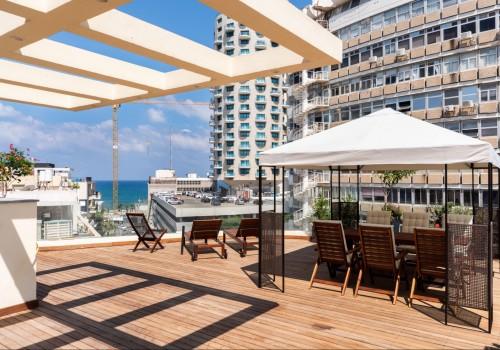 פנטהאוס מדהים בבניין לשימור משופץ עם מעלית פרטית חנייה בטאבו ונוף לים!