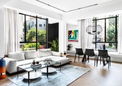 בשכונת בזל דירה בשטח של 94 מ״ר משופצת אדריכלית ברמה גבוהה עם מעלית !