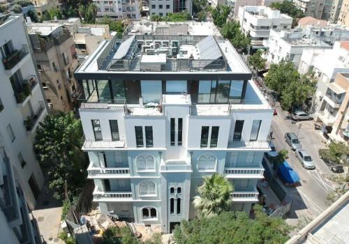 בבניין לשימור משופץ! מיני פנטהאוס 73 מ״ר בנוי + 20 מ״ר גג עם מעלית!