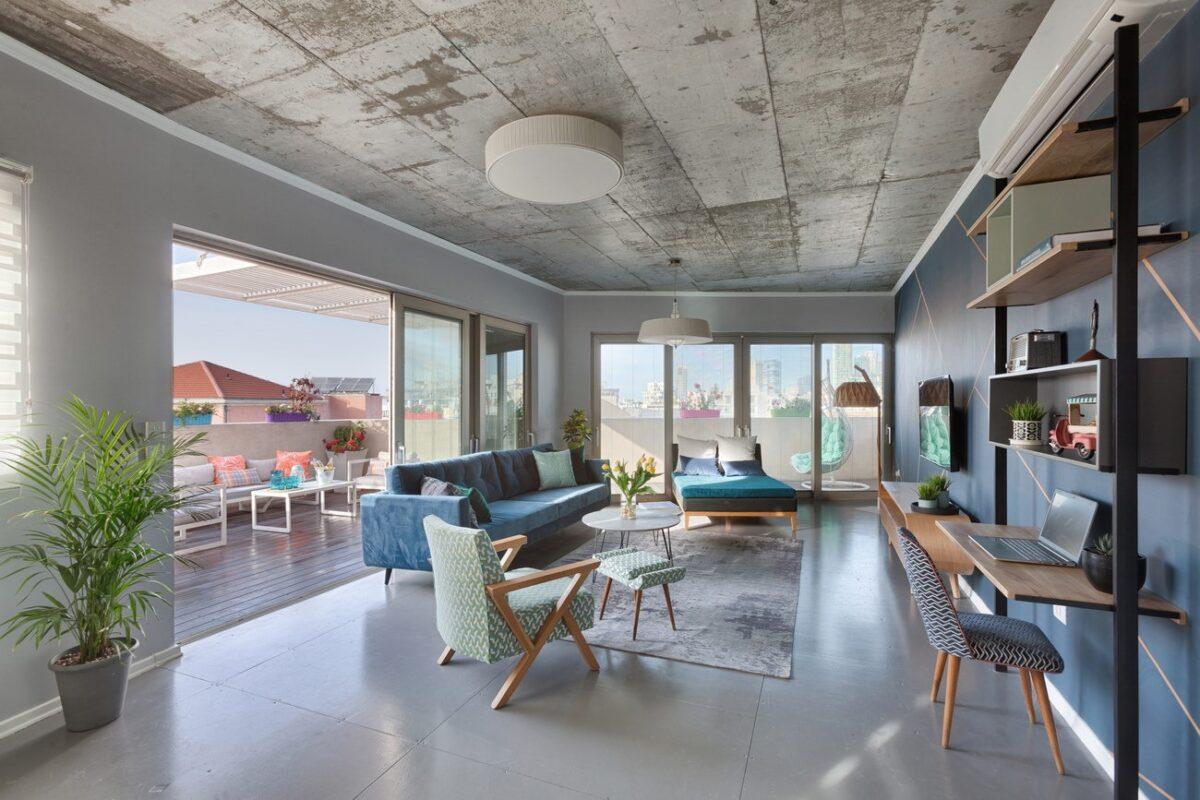 בצפון יפו במיקום מבוקש! פנטהאוס מעוצב של 110 מ״ר + 42 מ״ר גג במפלס! עם מעלית וחנייה בטאבו!