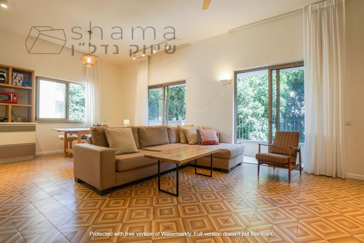 במרכז העיר דירת 4 חד׳ משופצת אדריכלית ברמה גבוהה מאוד! *נמכר*