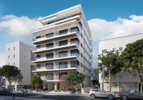 ברחוב דובנוב! פנטהאוס בפרוייקט בוטיק יוקרתי! 235 מ״ר בנוי + 175 מ״ר מרפסות גג עם בריכה פרטית! מחסן, מעלית ו2 חניות בטאבו!